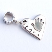 Heart Shaped Dangle Charm